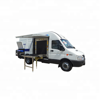 EI-100100M Mobile X-Ray Scanner Van